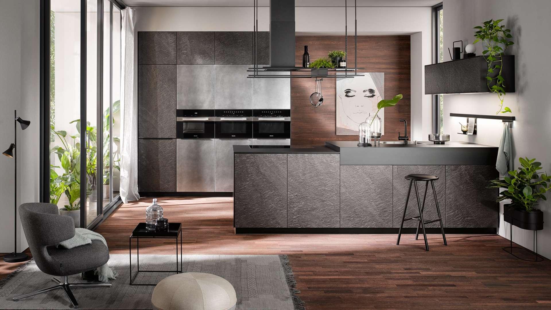 Häcker Design Küchen in der Küchenwelt preissegger in Wolfsberg und Klagenfurt/Kärnten