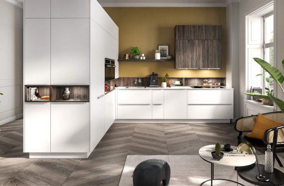 Klassik Küche Weiß