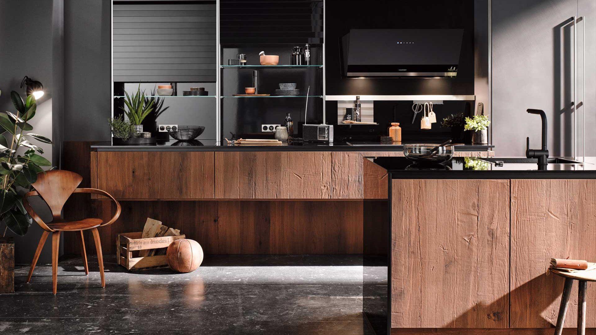 Grifflose Häcker Design Küchen in kaernten bei Miele Center preissegger