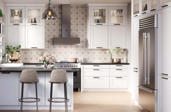 Landhaus Küche Weiß