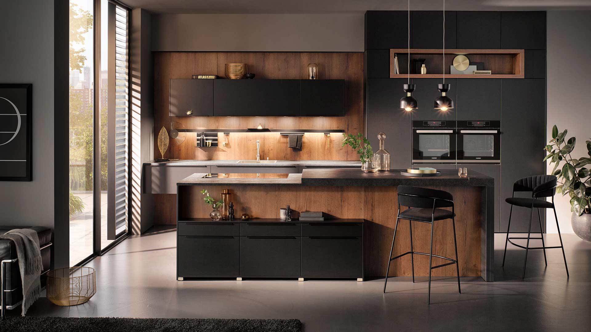 Küchentrends 2020 Häcker Mattlack im Miele Center preissegger