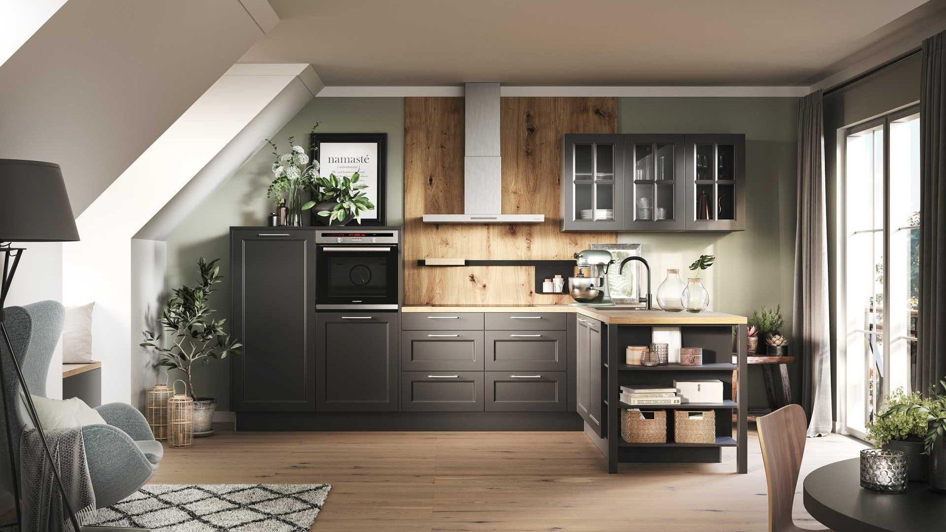 Küche von Häcker im Landhaus Design - Küchentrends 2021