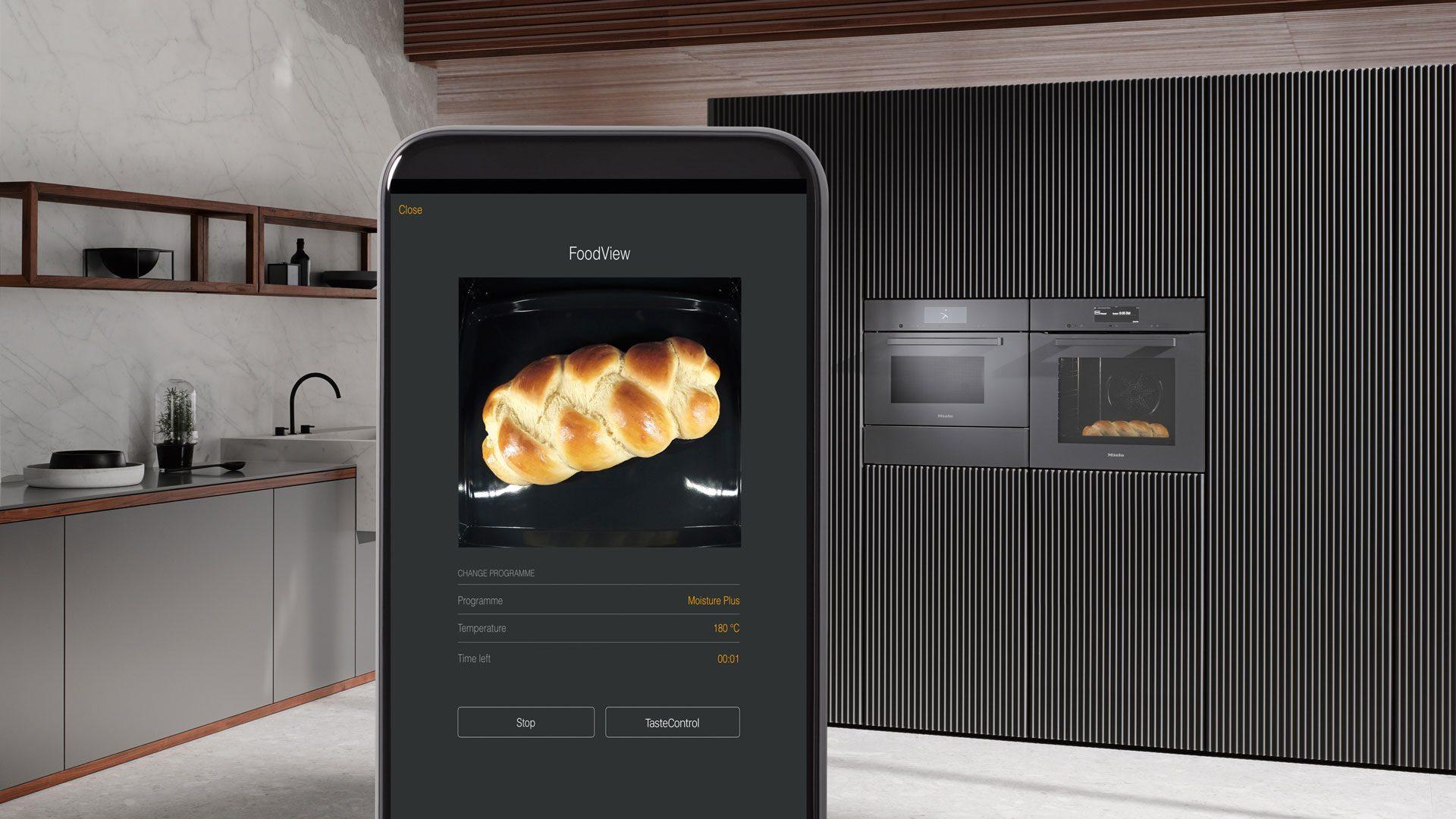 Miele Smart Home - Backofen mit dem Handy steuern bei Miele Center preissegger in kaernten