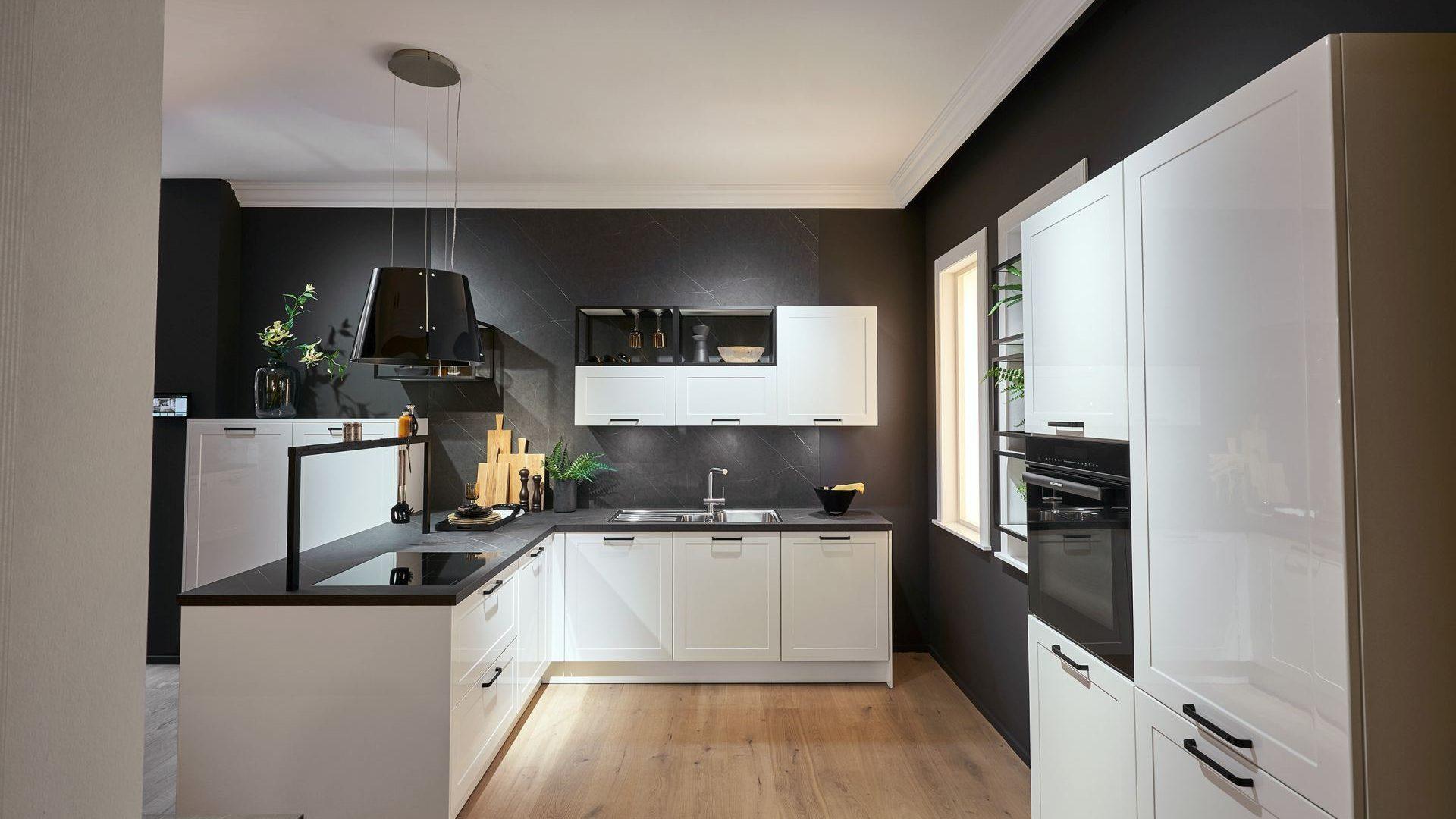 Küche von Häcker im Klassik Design - Küchentrends 2021
