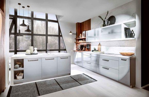 Klassik Küche Loft Polarweiß